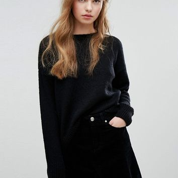 New Look Longline Jumper at asos.com