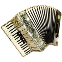 Weltmeister Stella, 80 Bass, 8 Registers, German Piano Accordion Instrument (628)