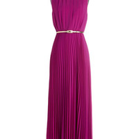 ModCloth Sleeveless Maxi Dancing in Romance Dress in Purple