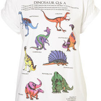 Dino Tee By Tee And Cake | Topshop USA