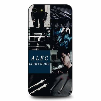 Alec Lightwood Shadowhunters iPhone 5/5s/SE Case