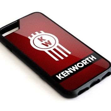 Kenworth Truck Logo Red For iPhone 5 5c 5s 6 6s 7 8 Plus Hard Plastic Case Cover