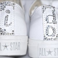 Wedding Swarovski Converse