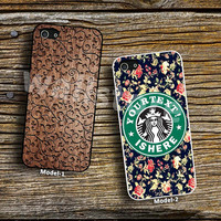 Vintage Floral Design & Inspired Starbuck,Own your Text