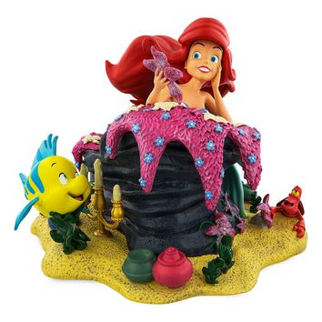 Disney Parks Ariel and Friends Resin Figurine Statue New with Box