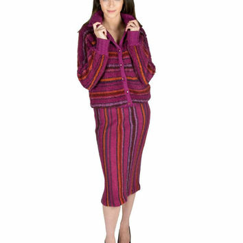 Vintage Missoni I Love You New York Sweater Set