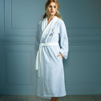 Ramage Bath Robe by Yves Delorme
