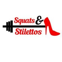 Squats & Stilettos Workout Vinyl Decal, Fitness Motivational Decal, Water Bottle Decal, Workout Sticker