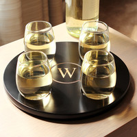Round Wine Flight Samplerw/ 4pc. Glass Set