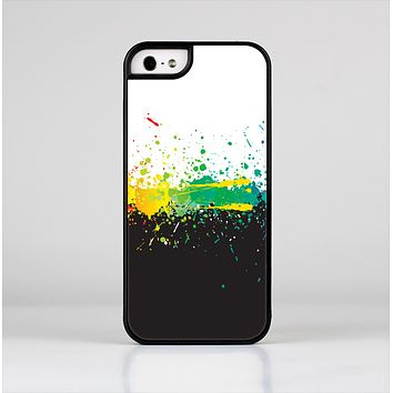 The Rainbow Paint Spatter Skin-Sert Case for the Apple iPhone 5/5s