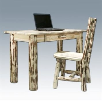 Montana Woodworks Writing Desk in Clear Lacquer