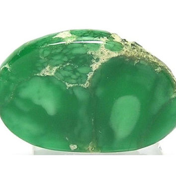 Green Lucin Utah Variscite Polished Unset Jewelry Stone