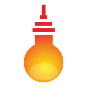 Bulb Abstract Industrial Logo Design Vector for Your Future Business
