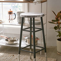 Kenzie Silver Bar Stool | Urban Outfitters