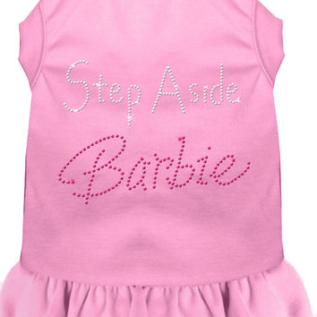 Step Aside Barbie Rhinestone Dress Light Pink XXL (18)