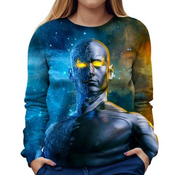 Between A Rock And A Hard Space Womens Sweatshirt