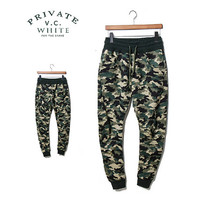 Street Fashion Camouflage Men Sweat Jogger Pants