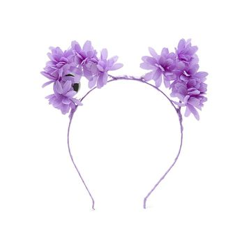 LED Light-Up Floral Headband