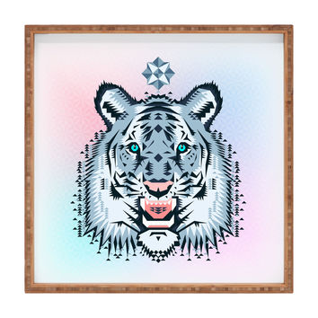 Chobopop Snow Tiger Square Tray