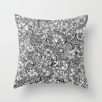I spy... Throw Pillow by Valentina Harper