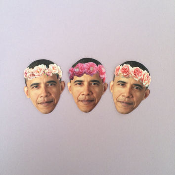 Obama Sticker Set
