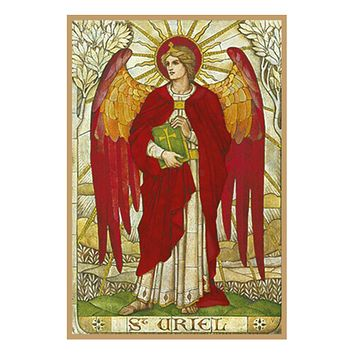 Arch Angel Uriel by Powell and Sons  Counted Cross Stitch or Counted Needlepoint Pattern
