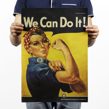 WWII Inspirational Poster 20X14