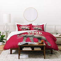 Eric Fan Top Of The Morning Duvet Cover