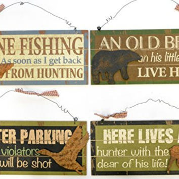 88in Novelty Hunt Wall, Styles May Vary, 1 Piece