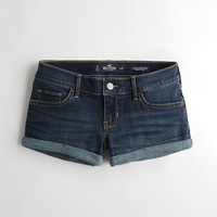 Girls Advanced Stretch Low-Rise Denim Short-Shorts | Girls Bottoms | HollisterCo.com