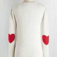 Mid-length Long Sleeve We're Young at Heart Sweater