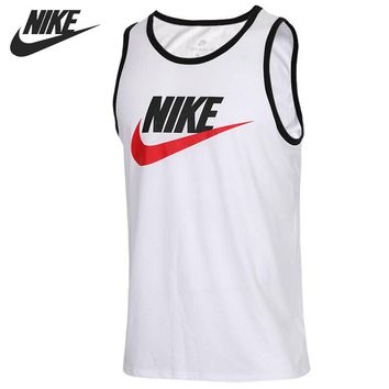 Original New Arrival 2018 NIKE AS M NSW TANK ACE LOGO Men's T-shirts Sleeveless Sportswear