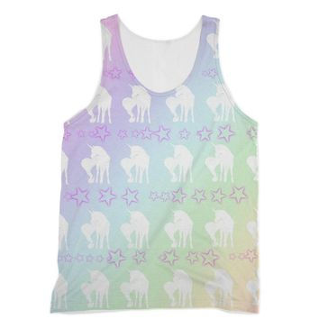 Unicorn Rainbow Designs by Amitie Sublimation Vest