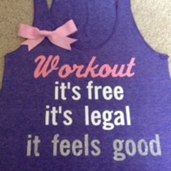 Workout Racerback Tank