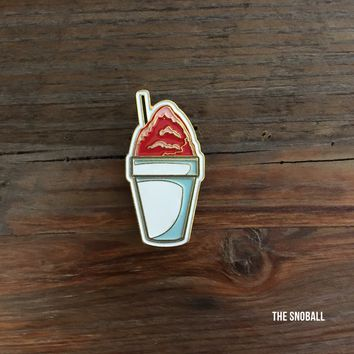 Sno-ball Enamel Pin