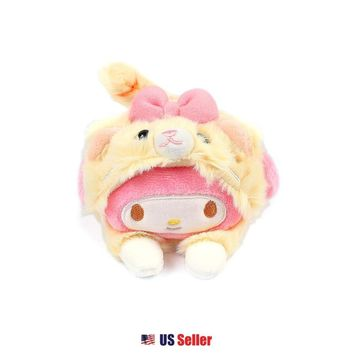 Sanrio My Melody Cat Costume Laying Petite Plush Doll Toy : My Melody $16.99