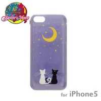 Strapya World : Sailor Moon Character Hard iPhone 5 Case (Luna and Artemis)