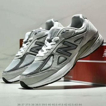 NB New Balance new trend men and women retro running shoes sneakers Grey