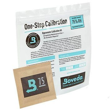 Boveda Humidity Control Hygrometer Calibration Kit