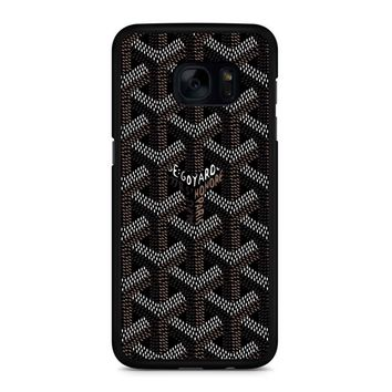 Goyard Black Samsung Galaxy S7 Edge Case