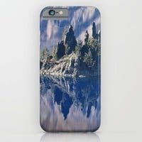 Ghost Ship, Creepy Crater Lake iPhone & iPod Case by RDelean