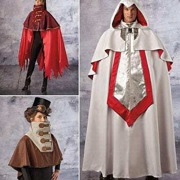 Knights Templar Costume - Steampunk Costume - Simplicity 1040 - Adult Costumes - Costume Patterns - sizes xs to xl