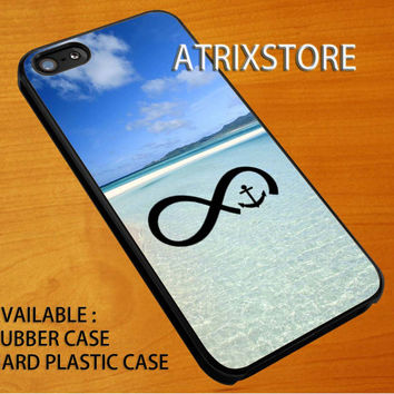 ininity anchor sea,Accessories,Case,Cell Phone,iPhone 5/5S/5C,iPhone 4/4S,Samsung Galaxy S3,Samsung Galaxy S4,Rubber,18-06-3-Ai