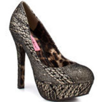 Diskkol - Leopard, Betsey Johnson, $129.99, FREE 2nd Day Shipping!