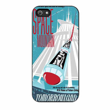 space mountain disney cases for iphone se 5 5s 5c 4 4s 6 6s plus