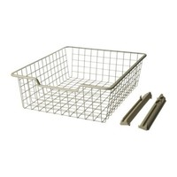 "KOMPLEMENT Wire basket - 19 5/8x22 7/8x6 1/4 "" - IKEA"