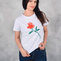 Girl Power Rose TShirt