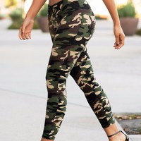 Harper Camo Leggings
