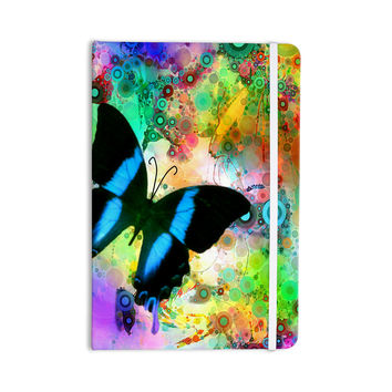 "alyZen Moonshadow ""Colorful Blue"" Multicolor Butterfly Everything Notebook"