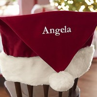 Santa Hat Chairbacker | Pottery Barn Kids
